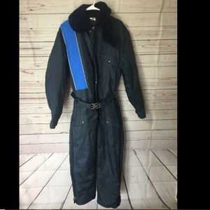 Vintage Jackets & Coats - WALLS Blizzard Pruf Men Blue Insulated Coverall